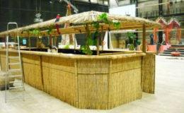 Bar bambusový velký