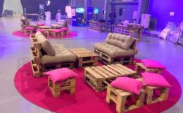 Paletový nábytek