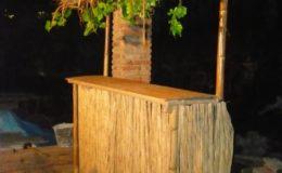 Bar bambusový základní díl