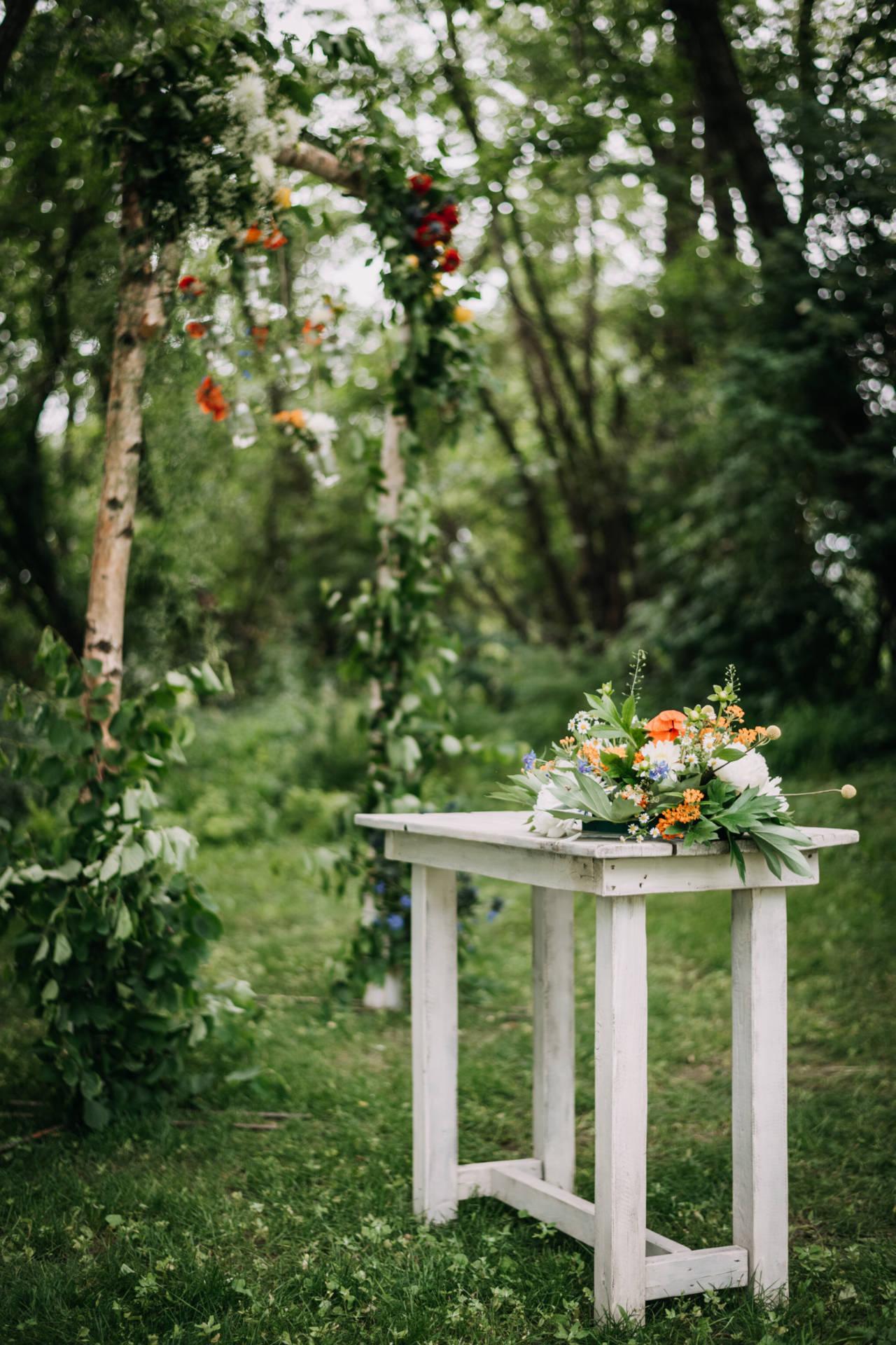 Svatební oltář